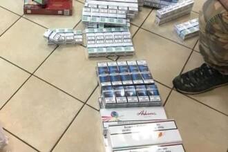 Femeie prinsă cu 42 de pachete de ţigări la ea. Ce ascundea soţul ei