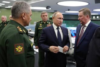 """Putin: """"Este un mare moment. Rusia a obținut un nou tip de armă strategică"""""""