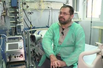 Aparatul care i-a salvat viața lui Mihai, rănit în Colectiv. Avem doar 5 în toată țara