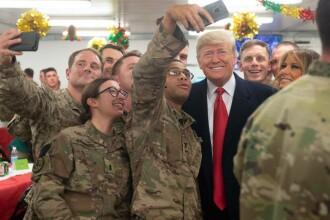 Trump ar fi dezvăluit din greşeală locaţia şi identităţile puşcaşilor marini din Irak
