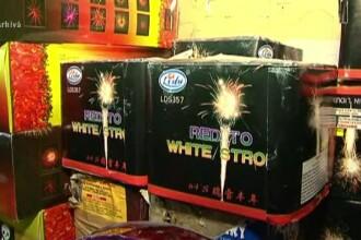 Mii de artificii fără acte, depistate în Mureș. Opt suspecți sunt cercetați