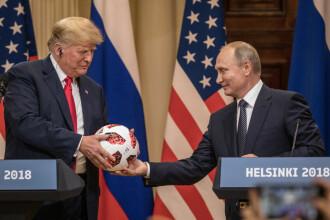 Donald Trump anunță că se va întâlni cu Vladimir Putin la sfârșitul lunii