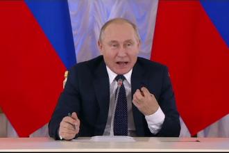 Vladimir Putin s-a prăbușit în sondaje. Încrederea, la cel mai scăzut nivel din 2006