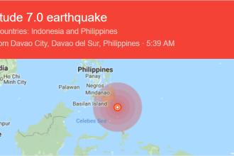 Cutremur de 7 pe Richter, în Filipine. Alerta de tsunami a fost retrasă