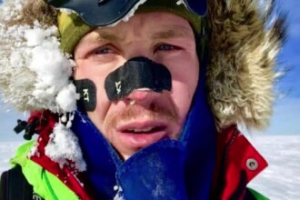 Incredibila aventură a americanului care a traversat Antarctica fără niciun ajutor