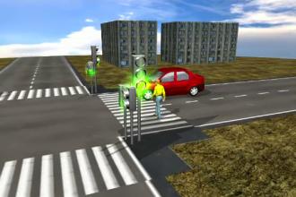Animație grafică. Cum ar fi fost sabotate semafoarele din Capitală. Reacţia UTI