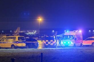 Bărbatul care a forțat intrarea pe aeroportul din Hanovra refuză să vorbească