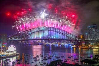 Gafă de Anul Nou la Sydney. Mesajul apărut în timpul artificiilor