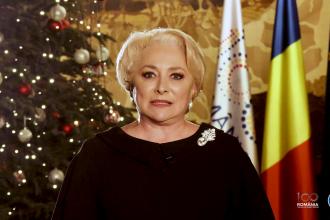 """Dăncilă, Anul Nou: """"Vom continua să luăm deciziile corecte pentru România"""""""