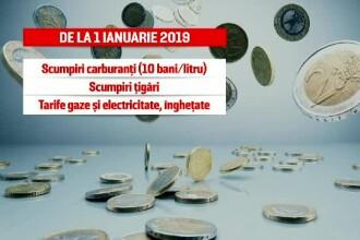 Anul Nou vine cu scumpiri în lanț. Produsele pentru care românii vor plăti mai mult