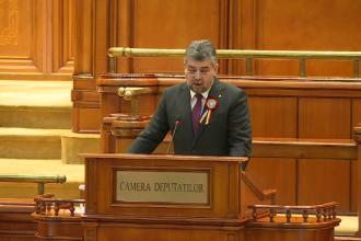 """VIDEO. Cum și-a citit președintele PSD discursul în Parlament: """"Ne dăm like-uri altora"""""""