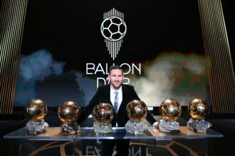 Lionel Messi este câștigătorul Balonului de Aur. Reacția sa după stabilirea noului record