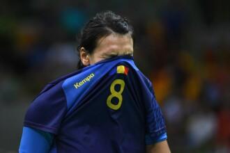 România - Muntenegru, 26 - 27. Înfrângere dramatică și șanse mici de calificare la CM de Handbal
