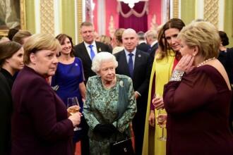 Cum a fost surprins Klaus Iohannis la Palatul Buckingham. Imaginea postată de soție