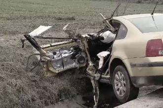 Două persoane au murit într-un accident produs de șoferul unei mașini cu volan pe dreapta