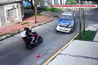 Ce au pățit trei hoți după ce au jefuit o femeie în Argentina. Video dramatic