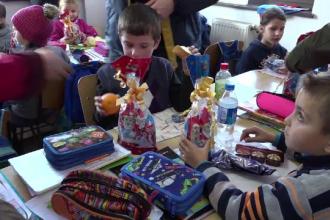 Campanie umanitară în Botoșani. Zâmbete pe chipurile a 5000 de copii sărmani