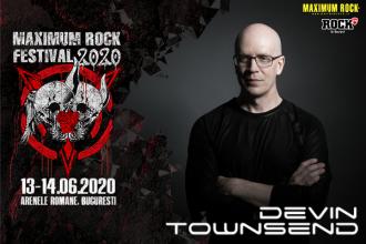 Concert Devin Townsend în premieră în București, la Maximum Rock Festival 2020, alături de Katatonia