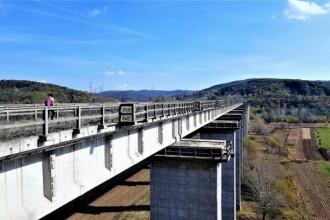 Capodopera uitată a CFR: Calea ferată cu elemente unice şi cel mai lung şi mai înalt viaduct