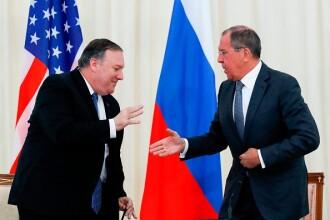 Serghei Lavrov, vizită oficială în SUA. Se va întâlni cu secretarul de stat Mike Pompeo