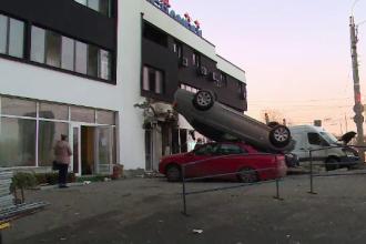 Cum s-a produs explozia care a aruncat în aer 4 mașini, în Galați