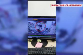 Jaf armat la o farmacie din Suceava. Incidentul, surprins de camerele de supraveghere