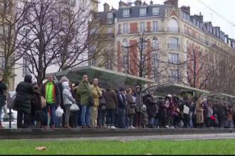 """Capitala Franței, paralizată de greva din transporturi. """"E o adevărată catastrofă"""""""