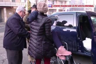 Copilă paralizată după ce a fost lovită pe trecere. După 4 ani, șoferul vinovat e încă liber