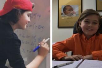 Povestea băiatului genial care va termina facultatea la doar 9 ani. Ce vrea să facă apoi