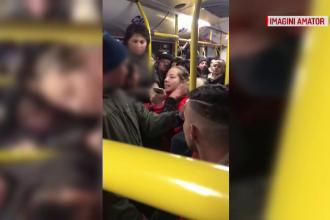 Scandal într-un autobuz din Pitești. Cum au vrut trei tinere să jefuiască o jandarmeriță