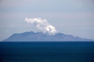 Erupţie vulcanică în Noua Zeelandă. Bilanţul tragediei a ajuns la 19 morţi