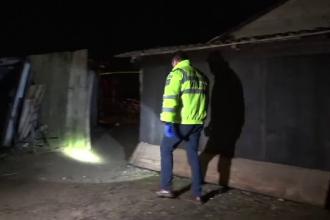 Un bărbat din Botoșani a fost împușcat de un polițist pe care îl atacase cu toporul