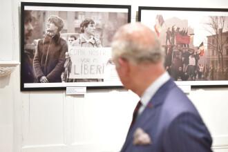 Expoziţie dedicată Revoluţiei Române, deschisă de Prinţul de Wales la sediul ICR Londra