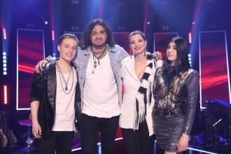 Cine sunt finaliștii sezonului 9 Vocea României. VIDEO cu momentele din semifinală
