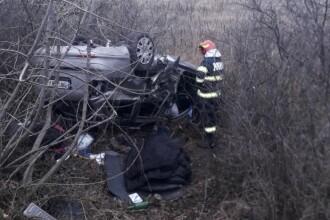 Accident grav cu un mort și 3 răniți pe Autostrada Vestului. A fost chemat un elicopter SMURD