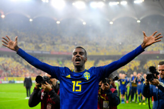 Ce a decis UEFA în privința acuzațiilor de rasism de la meciul România - Suedia