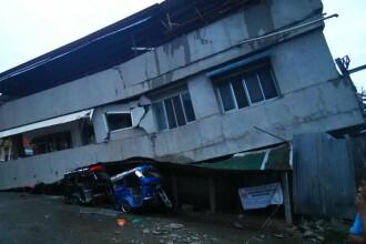 Un cutremur de 6,9 a lovit Filipine. Patru oameni au murit, printre care și o fată de 6 ani