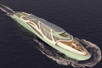 Invenția desprinsă din filmele cu spioni. Cum arată yacht-ul ce se transformă în submarin