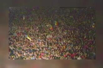 """30 de ani de la Revoluție. Ziua în care s-a scandat pentru prima dată """"Jos Ceauşescu"""""""