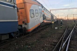Aproape 50 de oameni au fost răniți după ce 2 trenuri s-au ciocnit în Ploiești