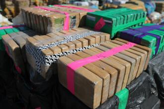 Traficanţi de cocaină columbiană, prinşi în Bulgaria. Unde ascunseseră jumătate de tonă de droguri