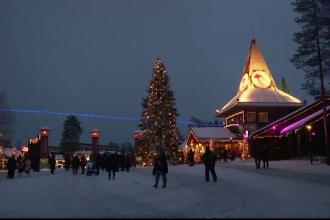 Satul lui Moș Crăciun din Finlanda poate fi vizitat virtual
