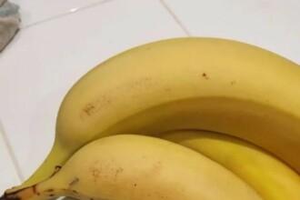 """Ce a găsit un copil când a mușcat dintr-o banană: """"Am fost șocată. Fiți atenți!"""""""
