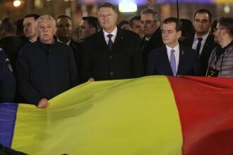 Marşul de comemorare a victimelor Revoluţiei. Iohannis și Orban, printre participanți