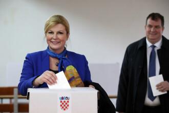 S-a încheiat primul tur al alegerilor prezidențiale din Croația. Cine sunt câștigătorii