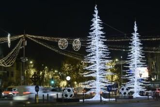 USR: Primăriile din România au plătit 53 de milioane de lei pentru iluminatul festiv