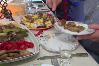 Masa de Sărbători i-a adus pe români împreună. Cum au petrecut prima zi de Crăciun
