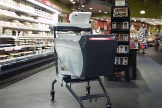 În SUA s-a lansat coșul de cumpărături inteligent, care elimină aglomerația din magazine