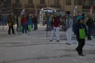 Dans la bustul gol în Poiana Brașov. Cum s-au bucurat turiștii de deschiderea pârtiilor de schi