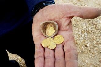 O ''puşculiţă'' veche de 1.200 de ani cu monede de aur, găsită în Israel. Cui ar fi aparținut